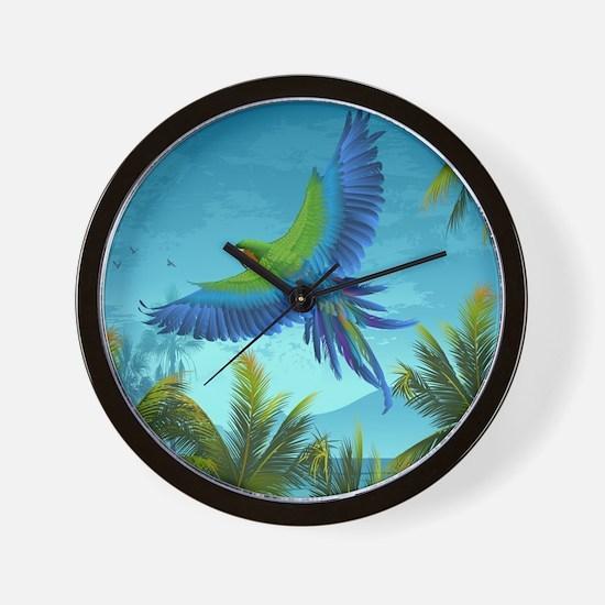nice looking modern wall clocks amazon. Tropical Bird Wall Clock Amazon Clocks  Large Modern Kitchen