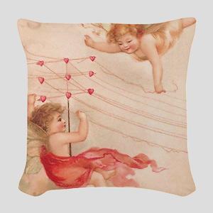 ca4_shower_curtain_kl Woven Throw Pillow