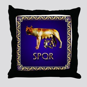 imperial rome Throw Pillow