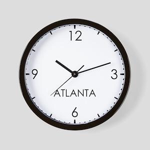 ATLANTA World Clock Wall Clock