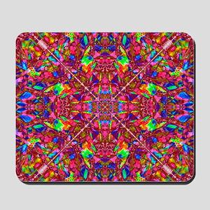 Pink Mandala Pattern Mousepad