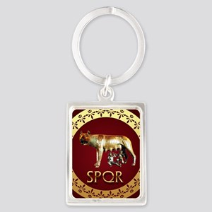 imperial rome Portrait Keychain