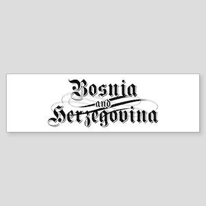 Bosnia & Herzegovina Bumper Sticker