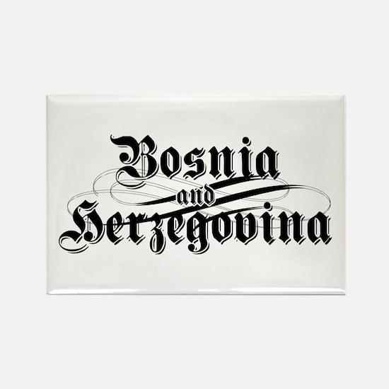 Bosnia & Herzegovina Rectangle Magnet