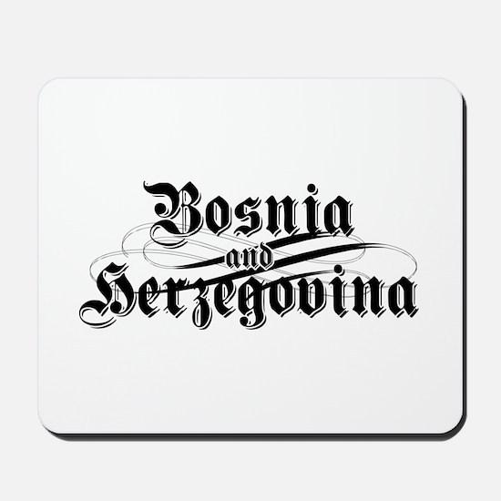 Bosnia & Herzegovina Mousepad