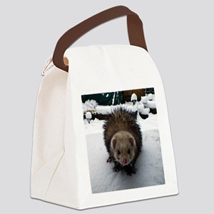 Fuzzy The Great Canvas Lunch Bag