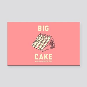 Alpha Epsilon Phi Big Cake Rectangle Car Magnet