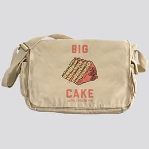 Alpha Epsilon Phi Big Cake Messenger Bag