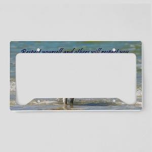 Respect the Osprey License Plate Holder
