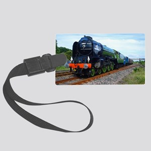 Flying Scotsman - Steam Train Large Luggage Tag