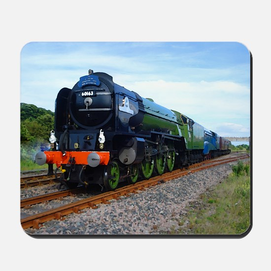 Flying Scotsman - Steam Train Mousepad