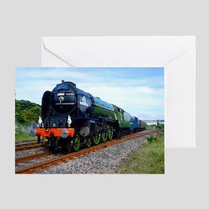 Flying Scotsman - Steam Train Greeting Card