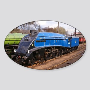 Sir Nigel Greasley - Steam Train Sticker (Oval)