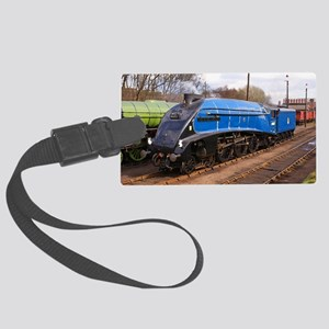 Sir Nigel Greasley - Steam Train Large Luggage Tag