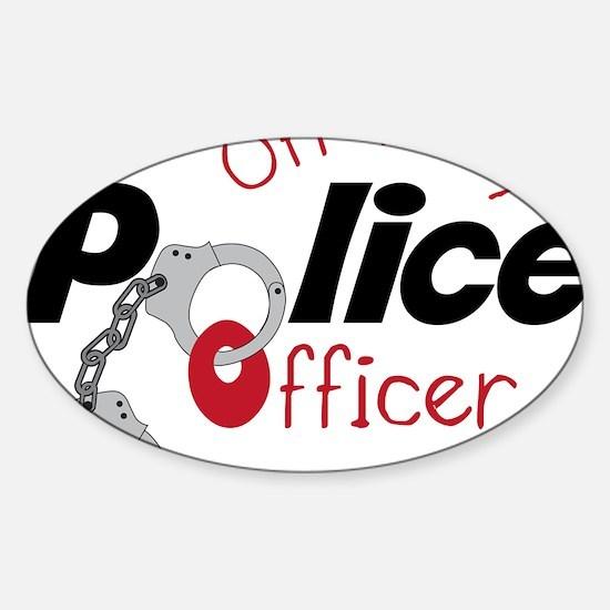 Off Duty Sticker (Oval)
