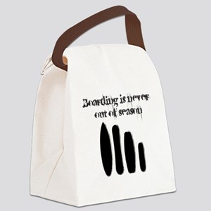 Never out of season Canvas Lunch Bag