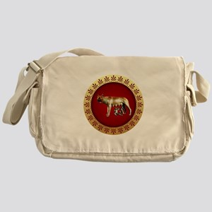 Roman design Messenger Bag