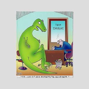 Extinction Insurance Throw Blanket
