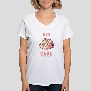Alpha Xi Delta Big Cake Women's V-Neck T-Shirt