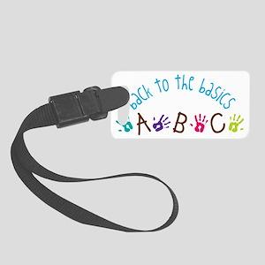 The Basics Small Luggage Tag