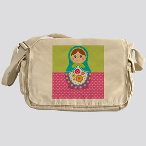 Matryoshka Blanket Messenger Bag
