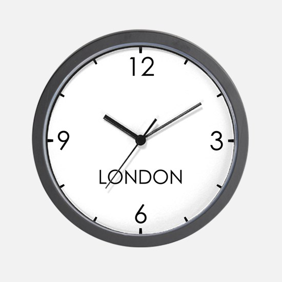 LONDON World Clock Wall Clock