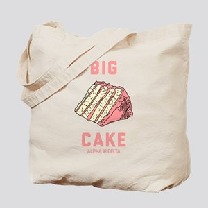 Alpha Xi Delta Big Cake Tote Bag