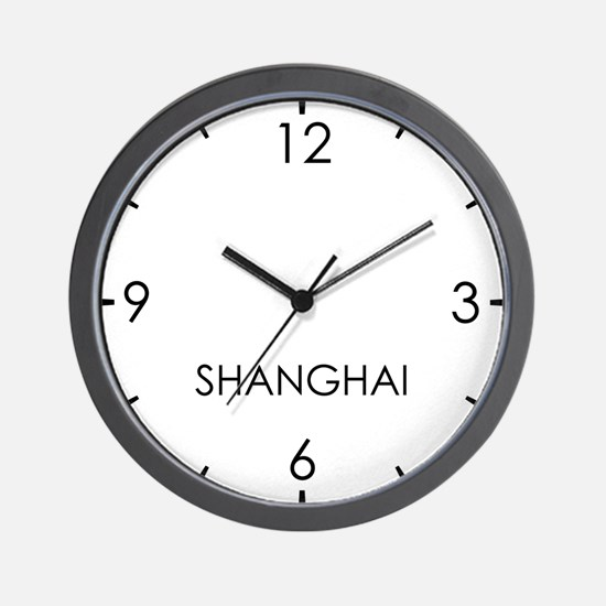 SHANGHAI World Clock Wall Clock