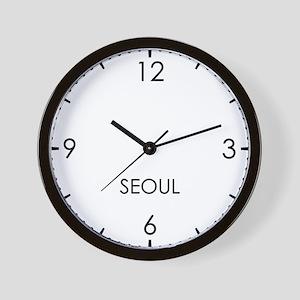 SEOUL World Clock Wall Clock