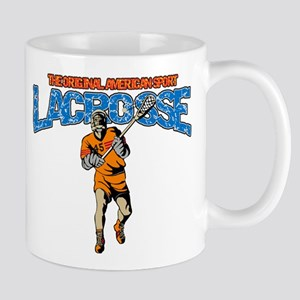 Lacrosse The Original American Sport Mug