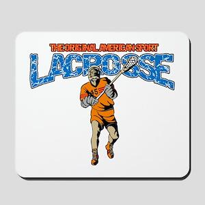 Lacrosse The Original American Sport Mousepad