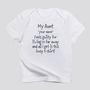 Aunt Guilty Personalized Infant T-Shirt