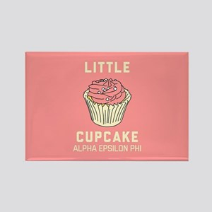 Alpha Epsilon Phi Little Cupcake Rectangle Magnet