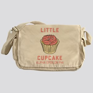 Alpha Epsilon Phi Little Cupcake Messenger Bag