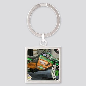 121 Artic Cat Snowmobile Square Keychain