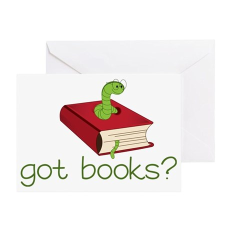 Got Books Greeting Card