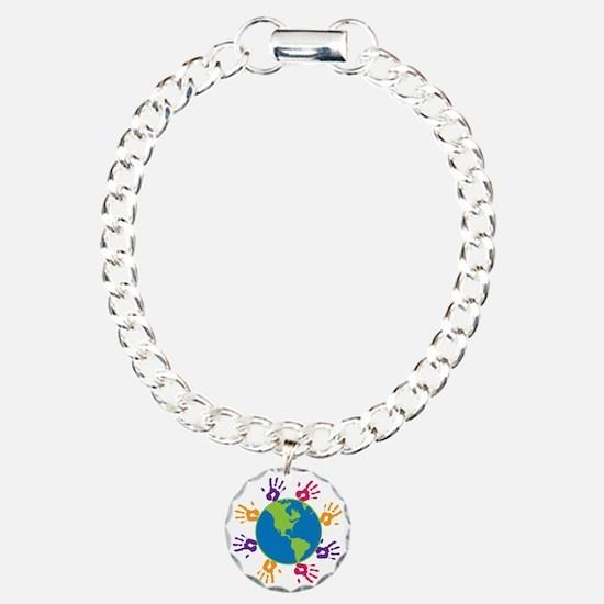 Little Hands Charm Bracelet, One Charm