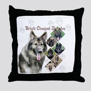 BCS-allOverTee Throw Pillow