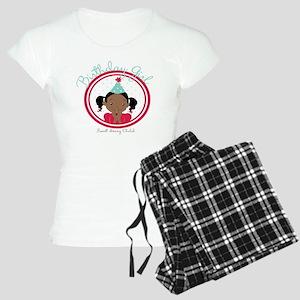 Bday Girl REd Women's Light Pajamas