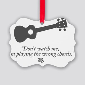 Wrong Chord Picture Ornament