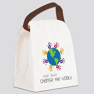 Small Hands Canvas Lunch Bag