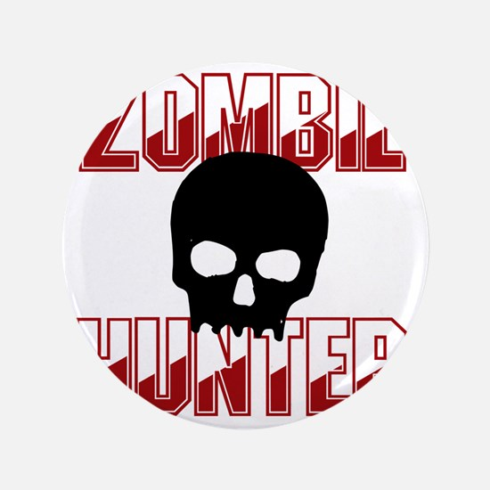 "Zombie Hunter 3.5"" Button"