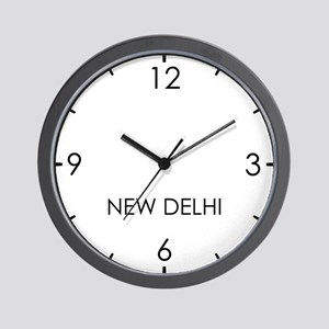 NEW DELHI World Clock Wall Clock