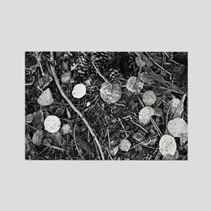 Litter crop for duvet Rectangle Magnet