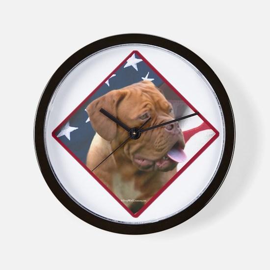 Dogue Flag 2 Wall Clock