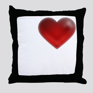 I Heart Nassau Bahamas Throw Pillow