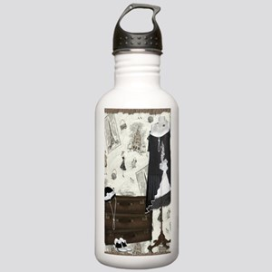 Gatsby in Paris Large Stainless Water Bottle 1.0L