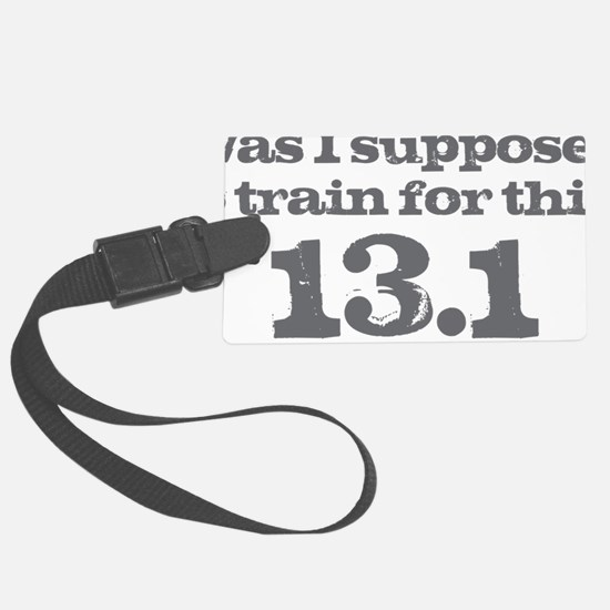 Train for This Luggage Tag