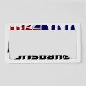 Australia Brisbane License Plate Holder
