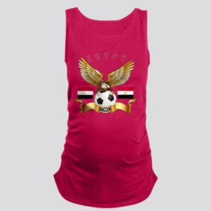 Egypt Football Designs Maternity Tank Top